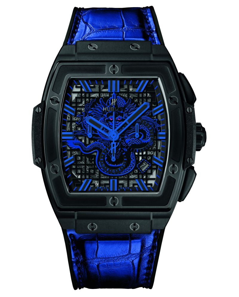 hublot-spirit-of-big-bang-fake-blue-black
