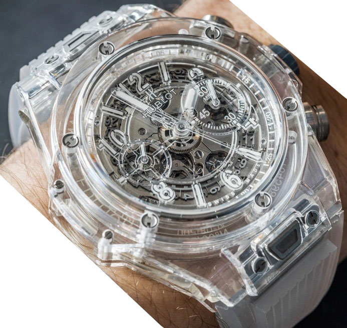Hublot-Big-Bang-White-Transparent-Replica