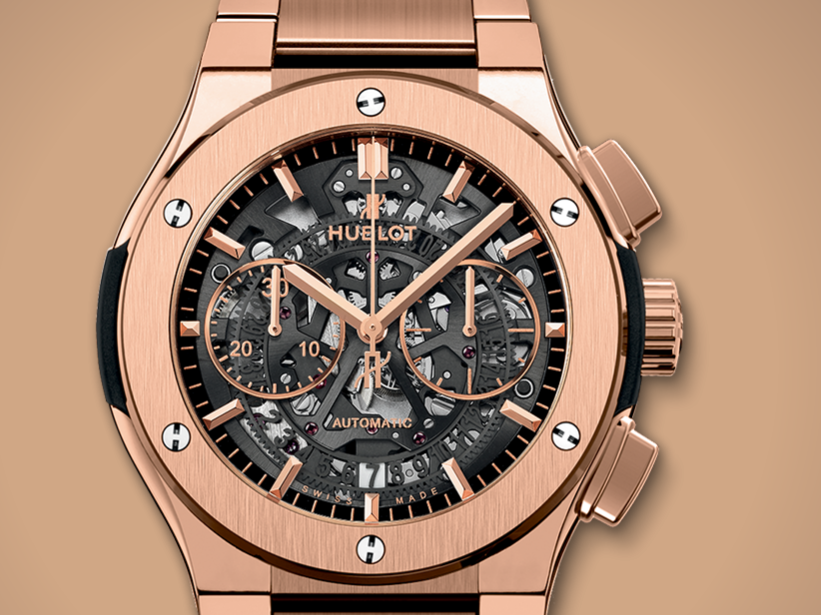 Hublot-Classic-Fusion-King-Gold-Cases-Copy