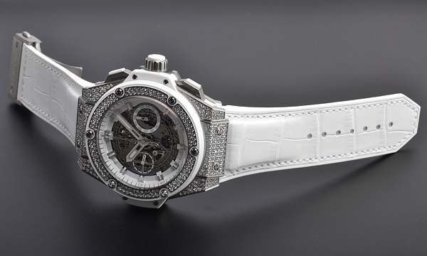 white leather strap copy Hublot 701.NE.0127.GR.1704