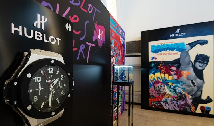"The masterpieces of the ""Hublot Loves Art"" exhibition are from artists of different genres and backgrounds."