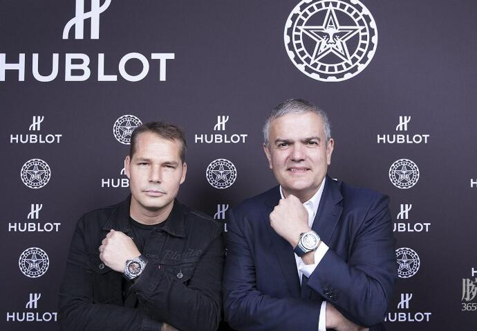 The Hublot has presented the great artist's innovation and creative idea.