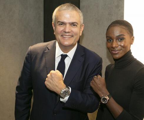 Dina Asher-Smith becomes the newest ambassador of Hublot.