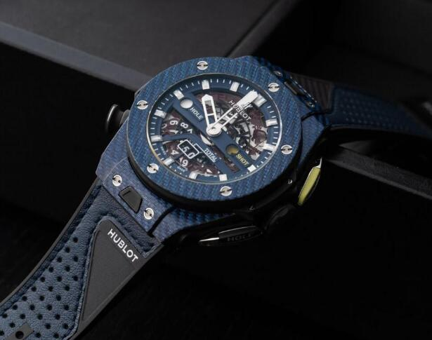 The Hublot special edition has been favored by many athletes.