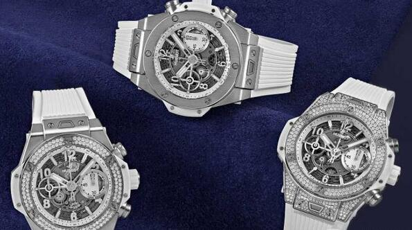 The new Hublot watches are suitable for both men and women.