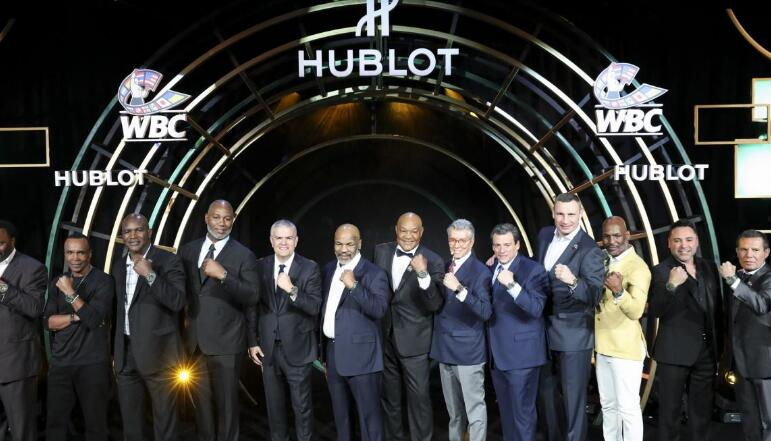 The timepieces are created to pay tribute to the close relationship between Hublot and WBC.
