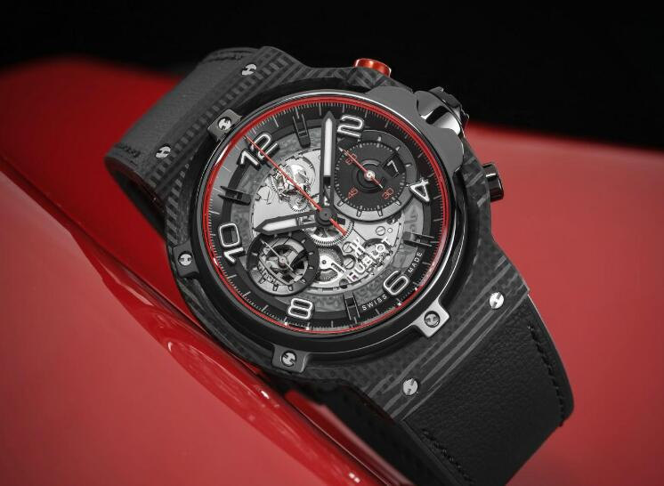 Hublot never stops pursuing the innovation and high technology.