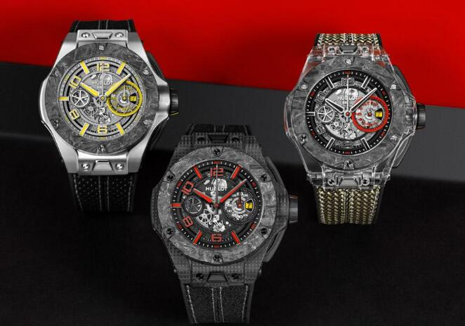 All these three Hublot Big Bang special editions are innovative and avant-garde.