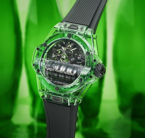 The Hublot Big Bang MP-11 watches are eye-catching.