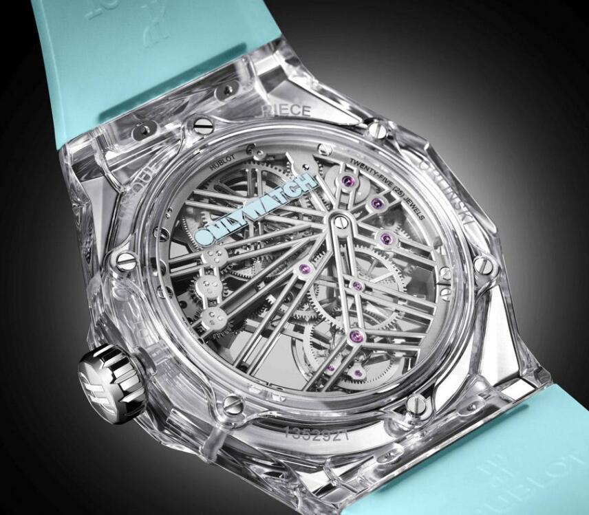 Hublot has presented the strong artistic aesthetics.